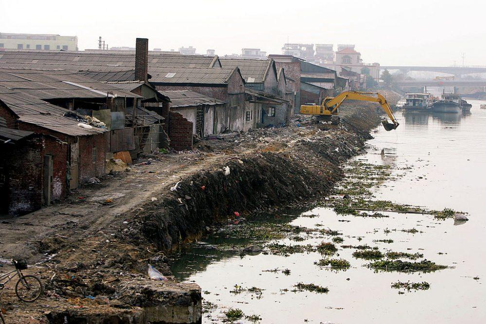 Poblado abandonado por epidemias