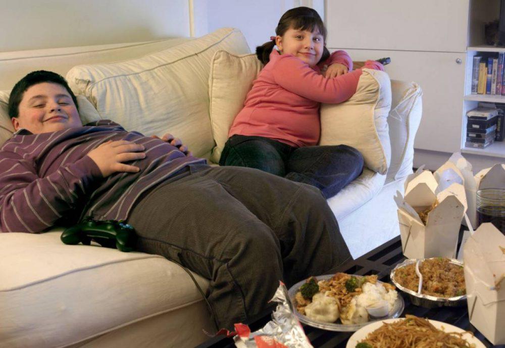 Epidemias de niños obesos