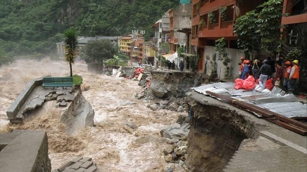 Un río desbordado