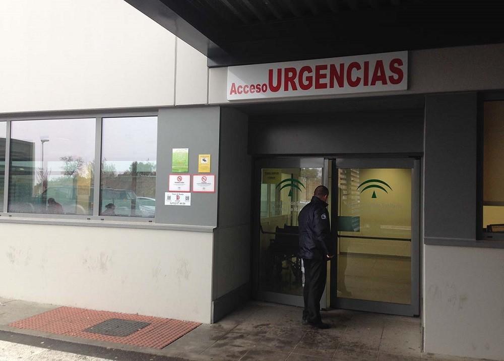 Entrada de Urgencias de clínicas en cuarentena
